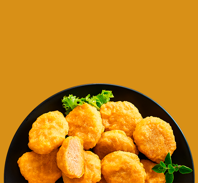 Rezept Green Legend Vegane Backteig Nuggets